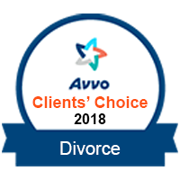 Avvo Clients choice 2018 Divorce